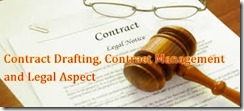 Contract Management for Legal Aspect