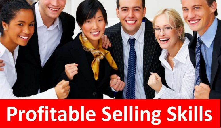 Training Profitable Selling Skills